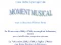 2008 Moment musical Noël